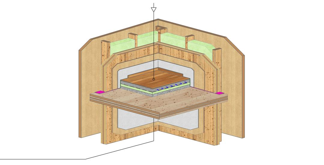 Aufbau Zwischendecke