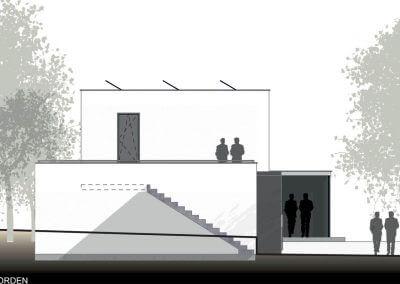 Nordansicht-vom-Holzmassivhaus
