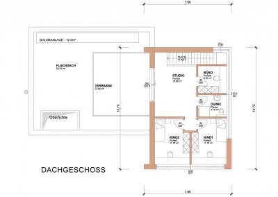 Plan-Grundriss-Dachschoss