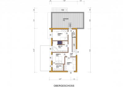 Plan-Grundriss-Obergeschoss