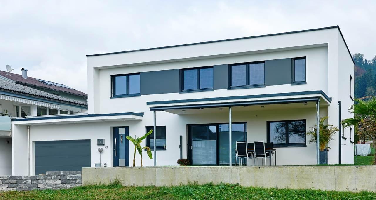 Holzmassivhaus Dornbirn